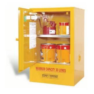 Under Bench Flammable Cabinet Storage (30L) Brisbane