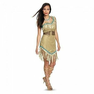 Disguise Pocahontas Prestige Adult Disney Nature Halloween Costume Cosplay - Adult Disney Pocahontas Costume