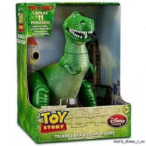 NEW Disney Store Toy Story 3 T Rex Dinosaur Talking Action Figure 12