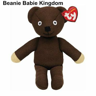 "TY Beanie Babie Baby * TEDDY * Mr Bean Teddy  Bear Bear 10"" Tall 46179"