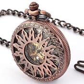 Copper Pocket Watch