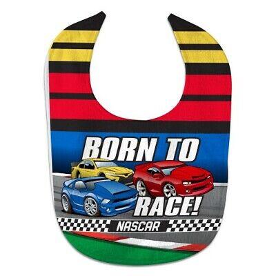 NASCAR Born To Race Baby Bib -