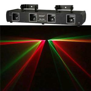 DJ Laser lighting 4 Head OBO