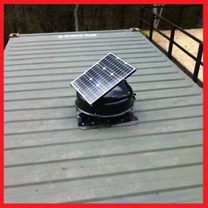 SolarKing : 35 Watts Solar Fan Cooler (Container Home) Roof Mays Hill Parramatta Area Preview