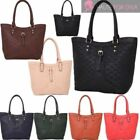 Checked Tote Handbags