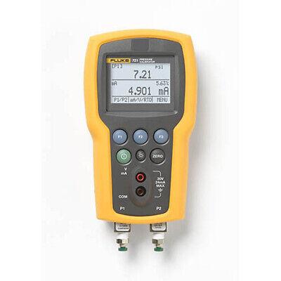 Fluke 721-1601 Dual Sensor Pressure Calibrator 16 Psig 100 Psig