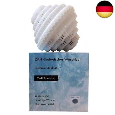 ZAH ökologischer Waschball, saubere und flauschige Wäsche ohne 1er (1er Pack)