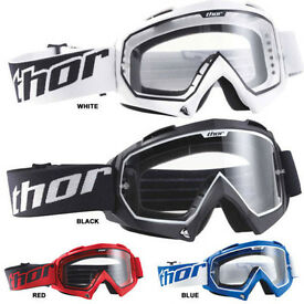 New Kids Youth Thor Enemy Goggles Motocross Enduro Quad Downhill BMX
