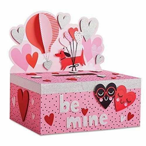 Dachshund Dog Mailbox HEART Decorating Valentine Day Kit - Spritz - Be Mine NEW