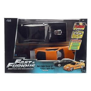 Fast & Furious Remote Control Twin Pack 1:16 scale