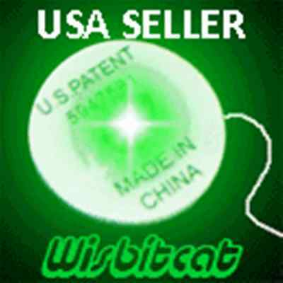 GREEN Blinky Lumi-Loons Balloon LED Centerpiece Table Party Glow Light Up Lights