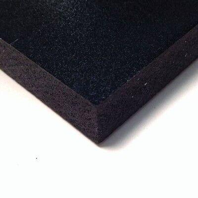 Black Pvc Celtec Foam Board Sheet 24 X 24 X 3mm 18 .125 Thickness