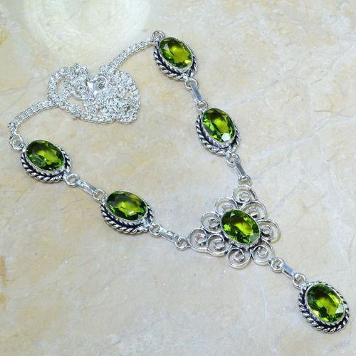 Peridot Necklace Ebay