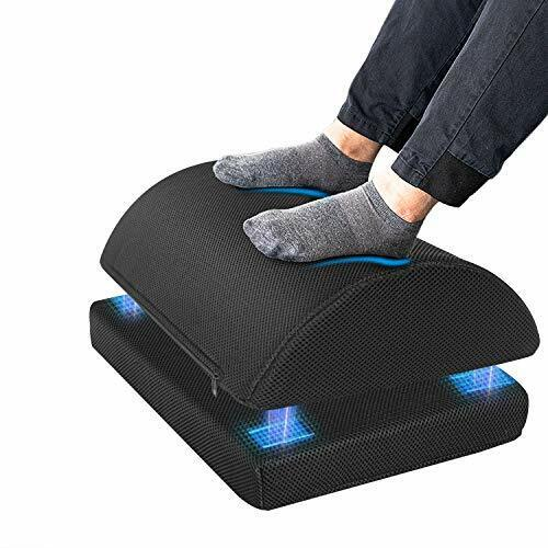 Foot Rest for Under Desk at Work,Adjustable Foot Stool with Handle Non-Slip