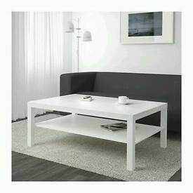 BRAND NEW White ikea coffee table