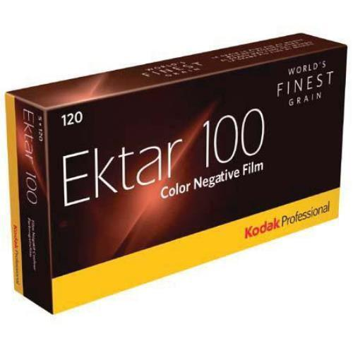 5 Rolls Kodak 120 Ektar 100 Color Negative Film FRESH FILM