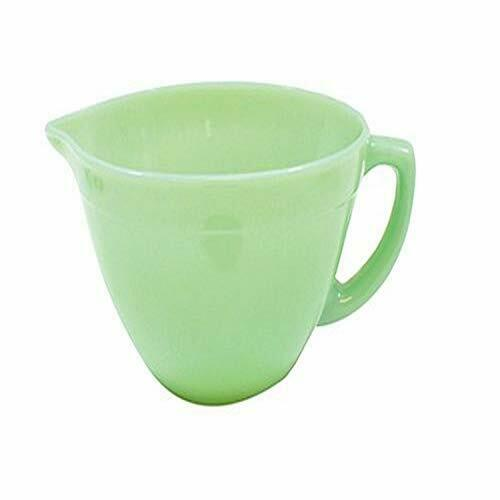 Jadeite Glass Collection 1.25 Quart Mixing Bowl w/ Handle