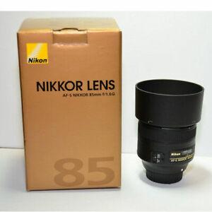 Lentille Nikon 85mm f1.8