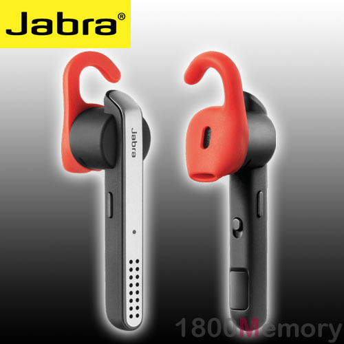 GENUINE Jabra Stealth Bluetooth Mono Headset Earpiece for Apple Samsung HTC Sony