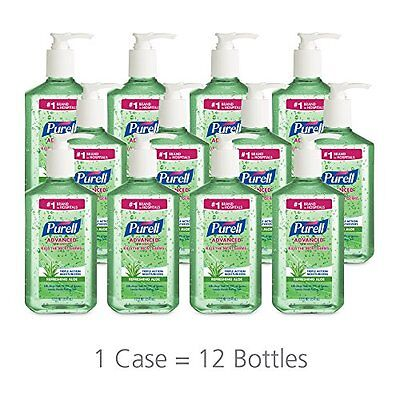 12 PURELL Advanced Instant Hand Sanitizer Pump with Aloe 12 oz Expires 06/2016