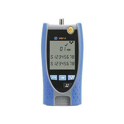 Ideal Networks R158000 Vdv Ii Basic Nwphonecoax Cable Tester