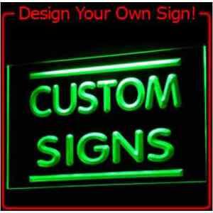 tm ADV PRO Custom Neon Light Sign Order (Design your own sign) .