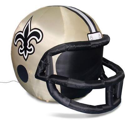 New Orleans Saints 5' Team Inflatable Illuminated Helmet - Inflatable Helmets