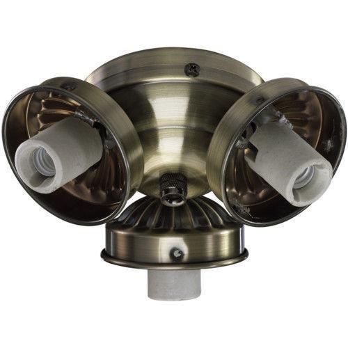 Ceiling Fan Light Kit Antique Brass Ebay