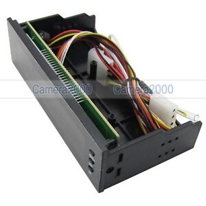 5-25-LCD-Panel-Fan-Speed-Controller-CPU-HD-Temp-Sensor