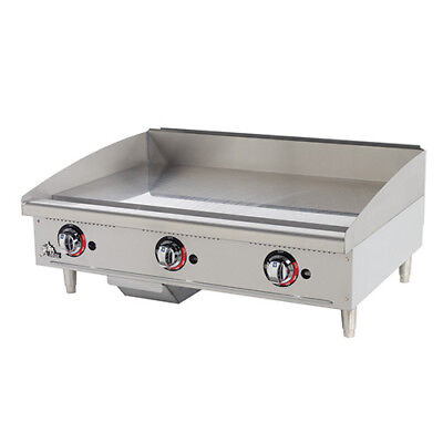 Star 636tf Commercial Griddle - Gas Thermostat Controls 36w