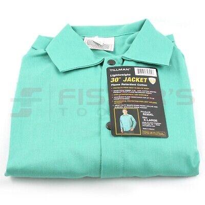 Tillman Light Duty Welding Jacket Green Medium
