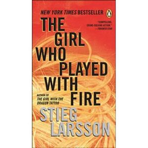 The girl who played with fire Novel Paperback