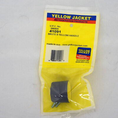 Yellow Jacket 41091 Yellow Handle With Screw For Brute Ii Series