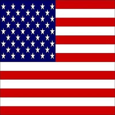 30 Custom USA Flag Personalized Address Labels