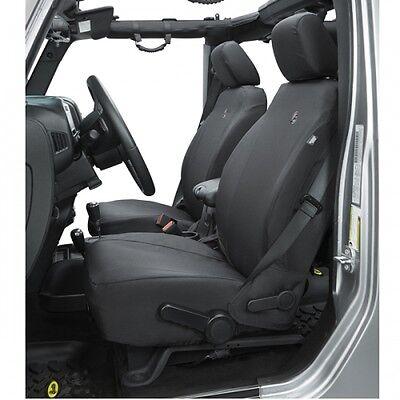 Jeep Wrangler TJ Sitzbezüge Sitzbezug Sitzschoner schwarz vorne 97-02