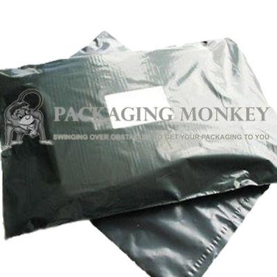 50 x Grey Mailing Postal Postage Bags 22x30