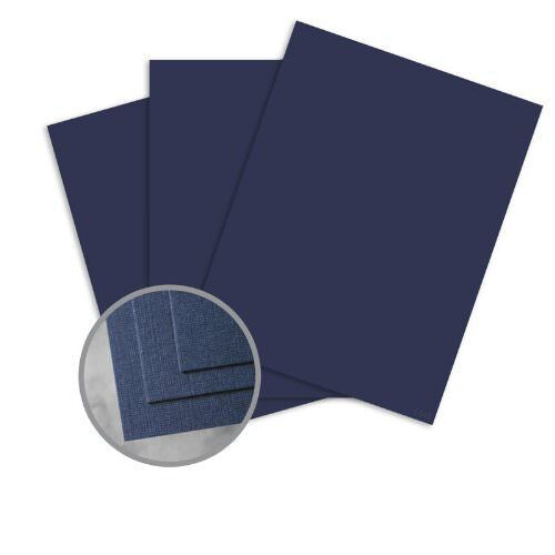 CLASSIC Linen Patriot Blue Card Stock