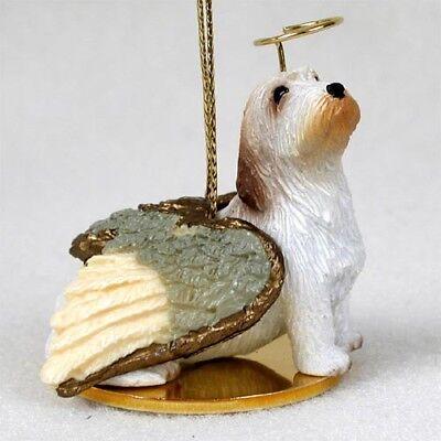 Petit Basset Griffon Vendeen Dog ANGEL Tiny One Ornament Figurine Statue
