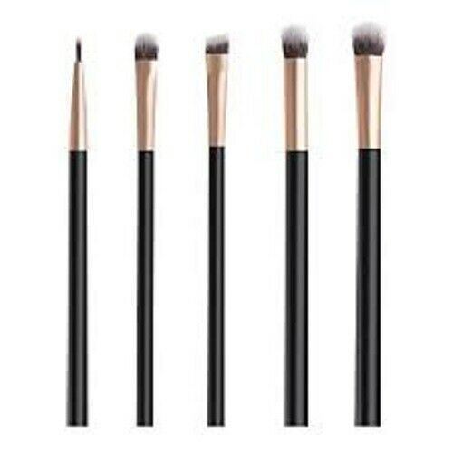 Anjou 5 pc. Makeup Brush Set- Eyeshadow, Liner