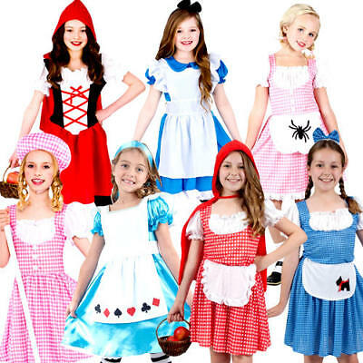 Fairy Tale Girls Fancy Dress World Book Day Nursery Rhymes Kids Childs - Nursery Rhymes Costumes