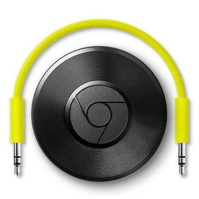 Google Chromecast Audio 2nd Generation Music Media Streamer - Refurbished
