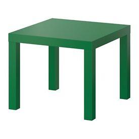 IKEA green side table