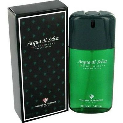 Acqua Di Selva by Visconti Di Modrone Cologne for Men EDC 3.4 oz New In - Acqua Di Selva For Men Cologne