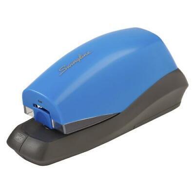 Swingline Automatic Stapler Breeze 20 Sheet Capacity Battery Powered Blue