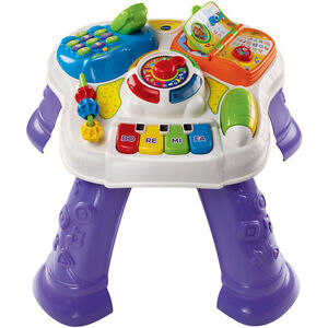 VTech Sit to Stand Table - Like New