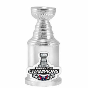 Washington Capitals NHL Stanley Cup Champions Trophy Replica Mini Paperweight