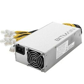 BITMAIN Antminer S9 T9 A3 L3+ APW3++ 1600W DC-12V PSU Power Supply