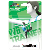 Wii Fit Trainer Amiibo (North American Mint Packaging)