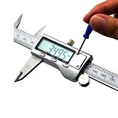 "Stainless Steel Vernier Caliper 6"" Digital LCD 150mm Measuring Electronic Tool"
