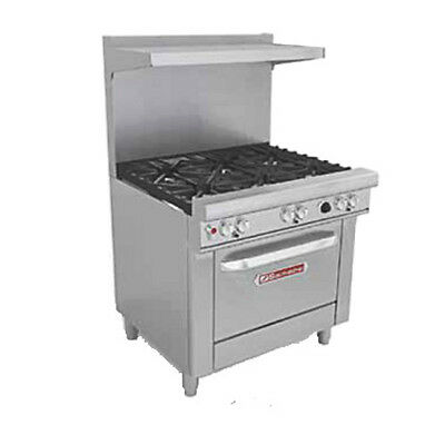 Southbend 4366a 36 Ultimate Restaurant Gas Range